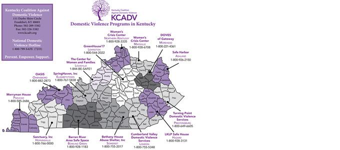 KCADV Member Programs