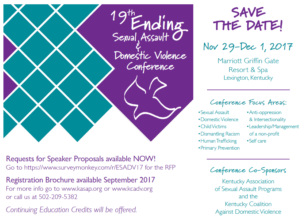 Save the Date November 29-December 1, 2017